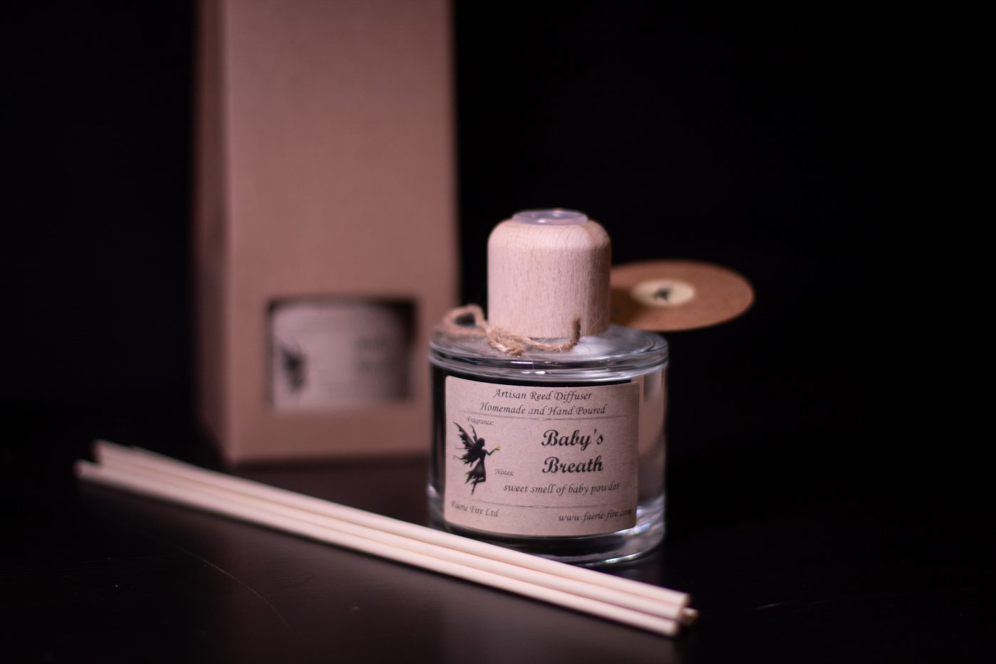 Baby Breath Reed Diffuser scaled