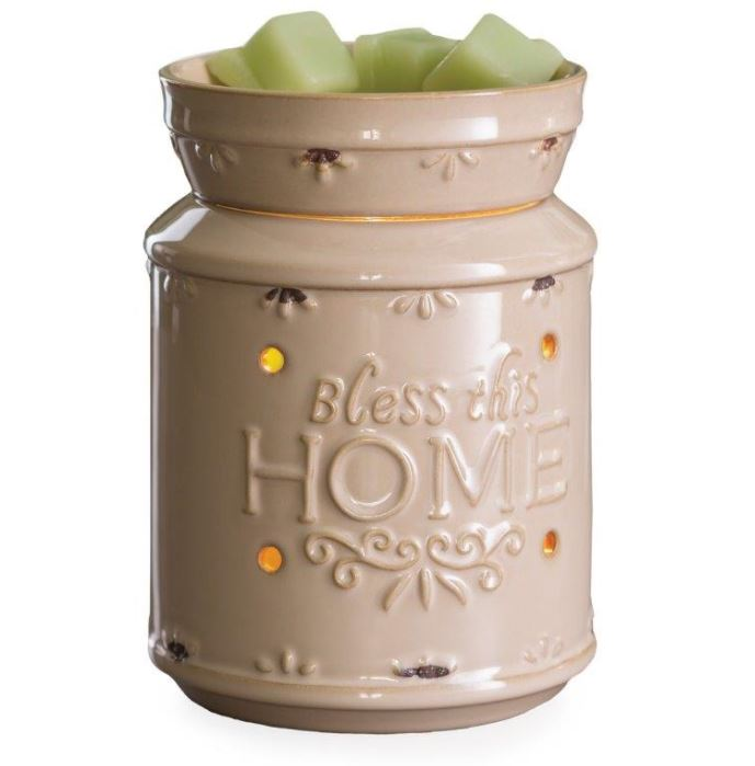 Bless this home wax warmer