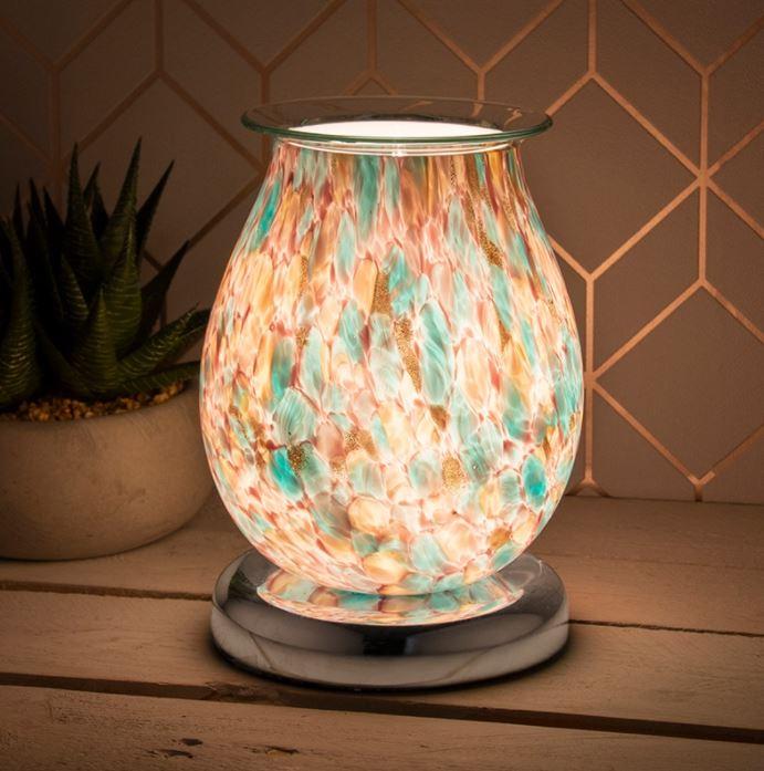 Blue Motle Aroma Lamp