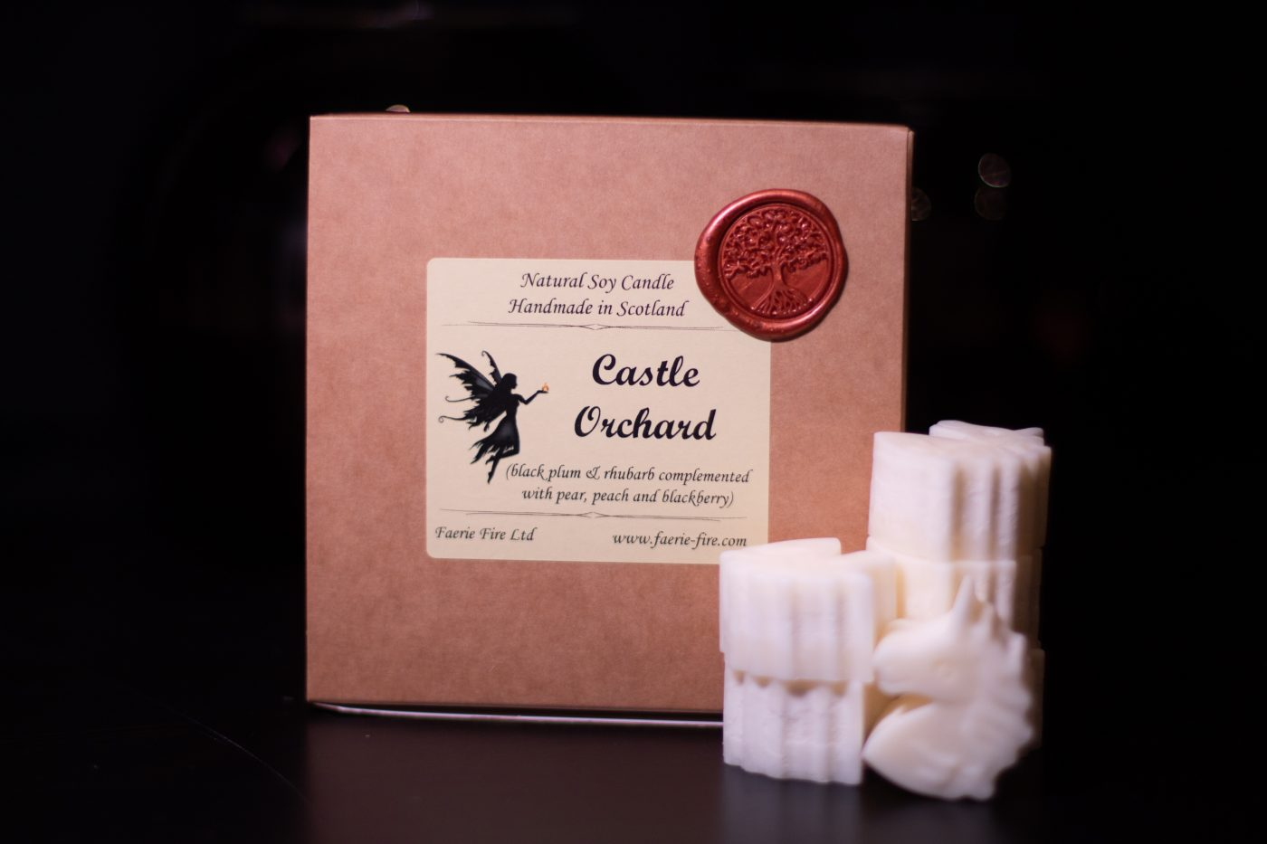 Castle Orchard Soy Wax Melts scaled