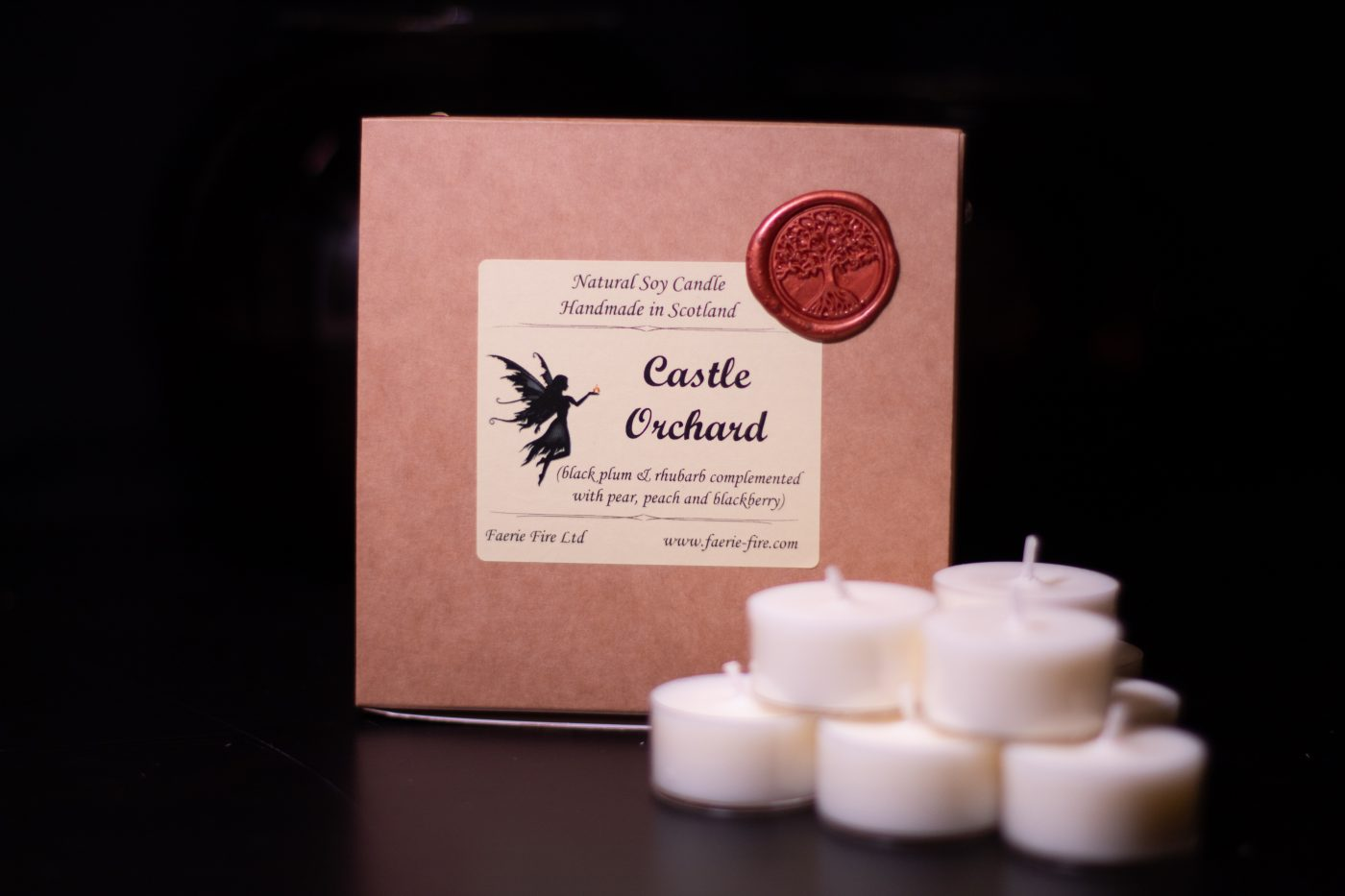 Castle Orchard Soy Wax Tealights scaled