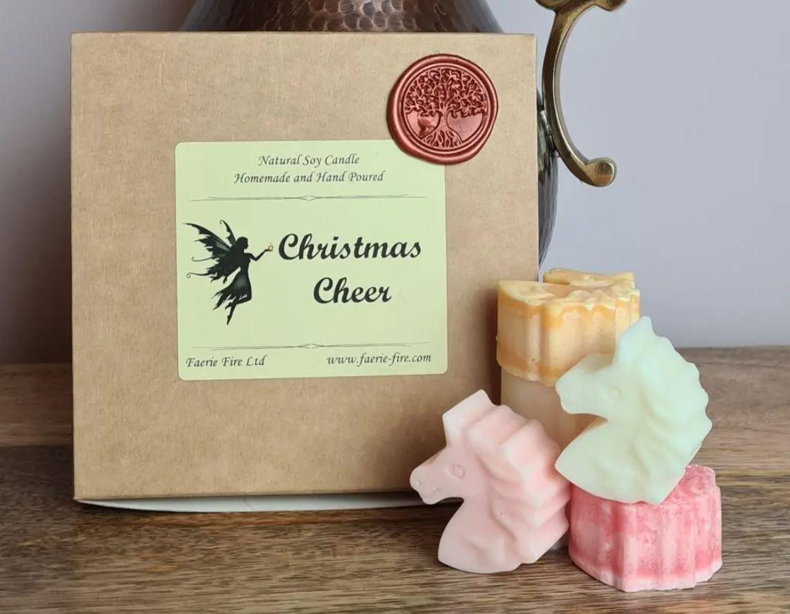 Christmas Cheer mixed sample box wax melts