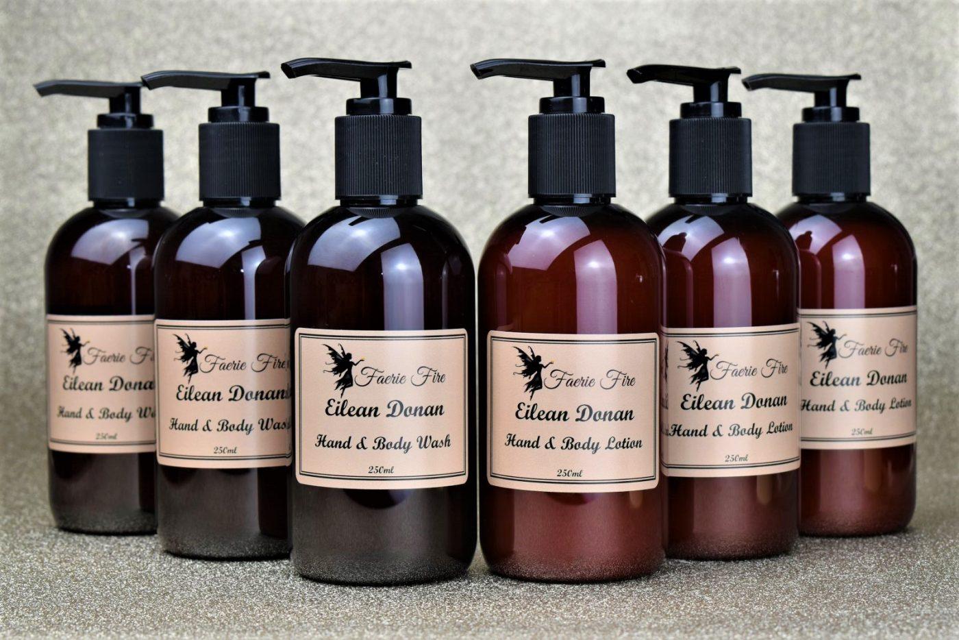 Eilean Donon soap lotion 2