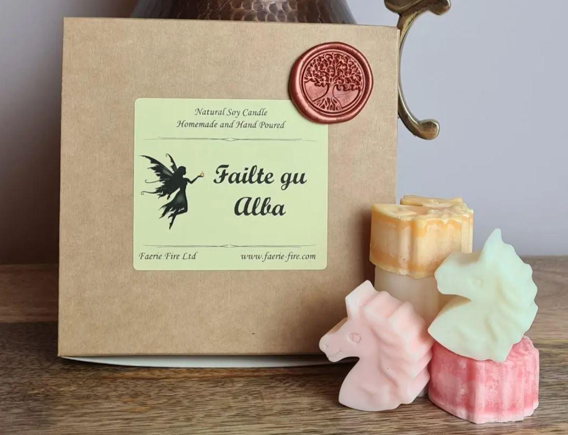 Failte gu Alba scottish mixed sample box wax melts