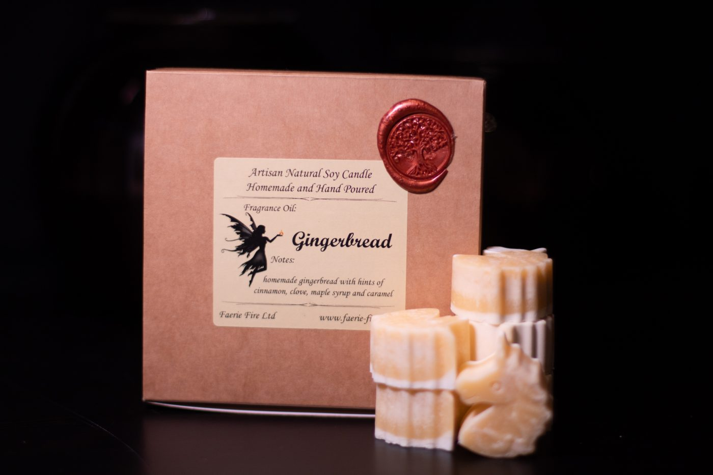 Gingerbread Soy Wax Melts scaled