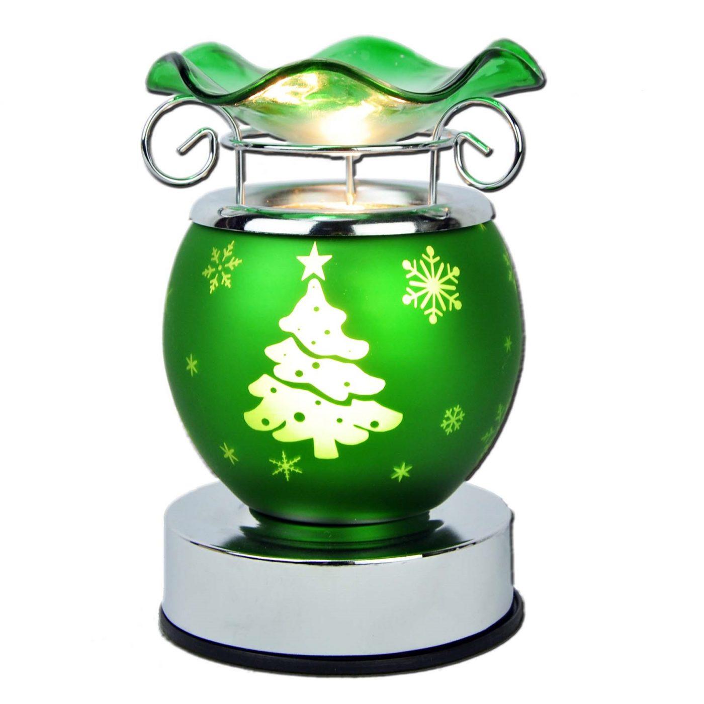 Green reindeer xmas aroma lamp