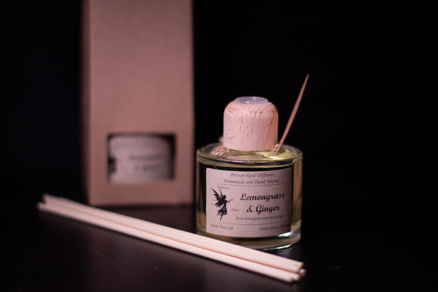 Lemongrass and Ginger Reed Diffuser scaled