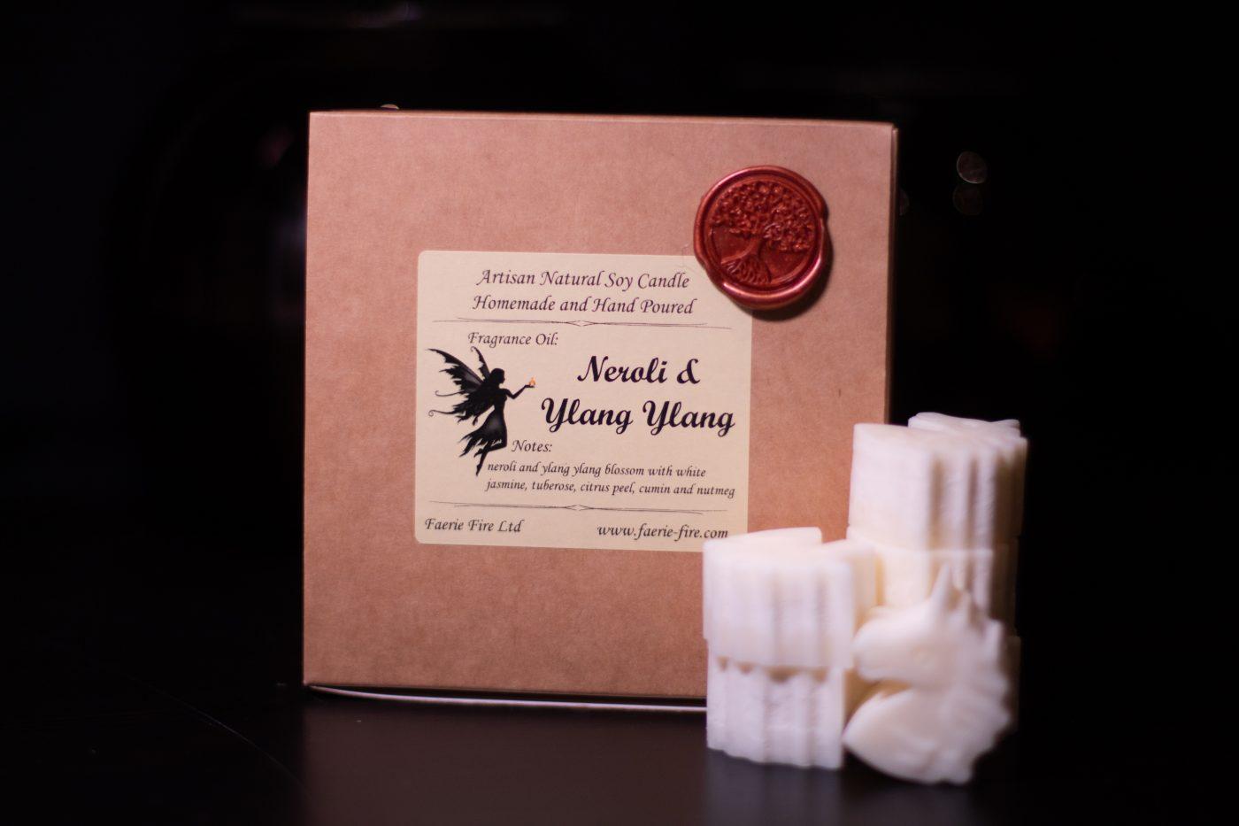 Neroli and Ylang Ylang Soy Wax Melts scaled