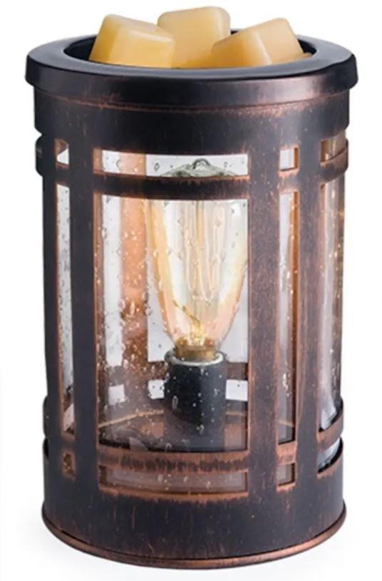Retro Edison Tarnished electric wax burner aroma lamp