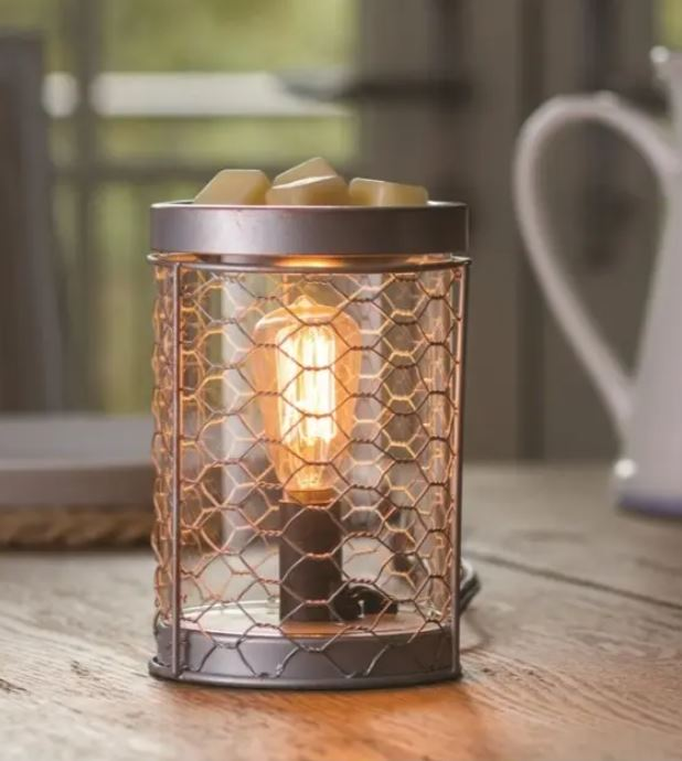Retro Mesh Edison Electric Aromap Lamp wax burner