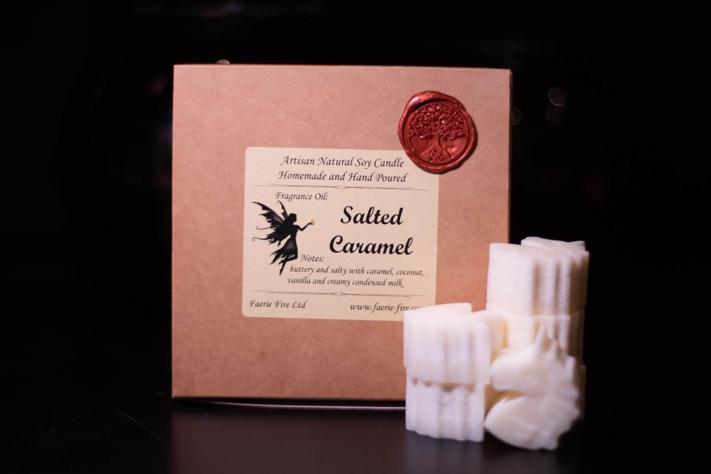Salted Caramel Soy Wax Melts scaled