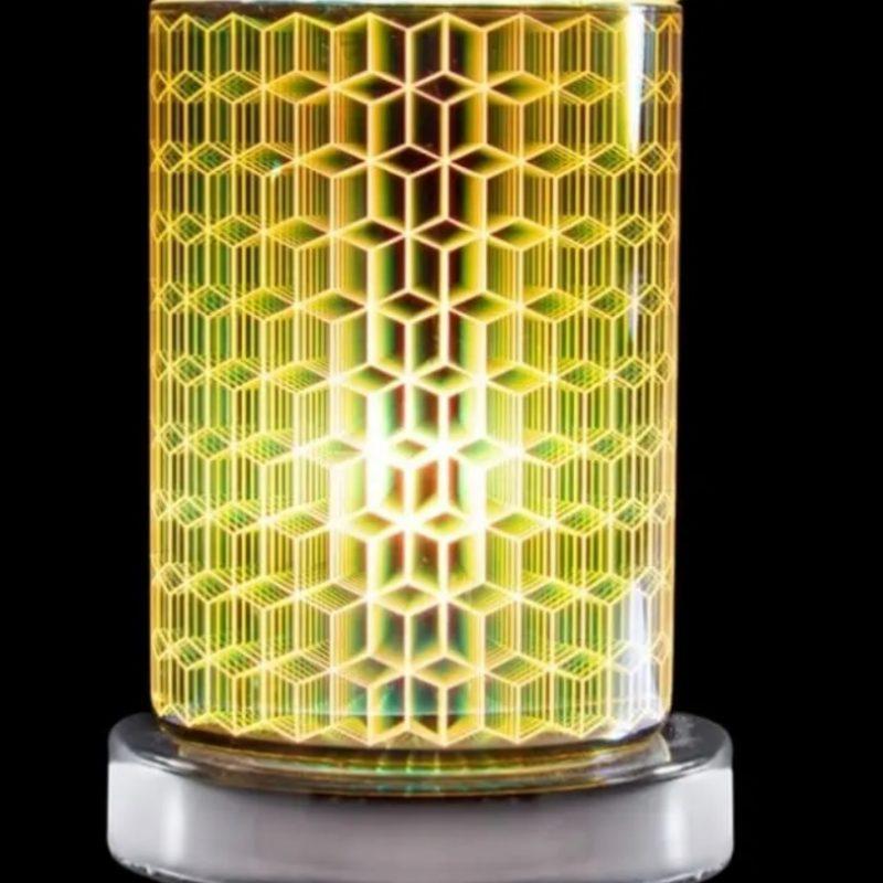 Geometric Tube Aroma Lamp