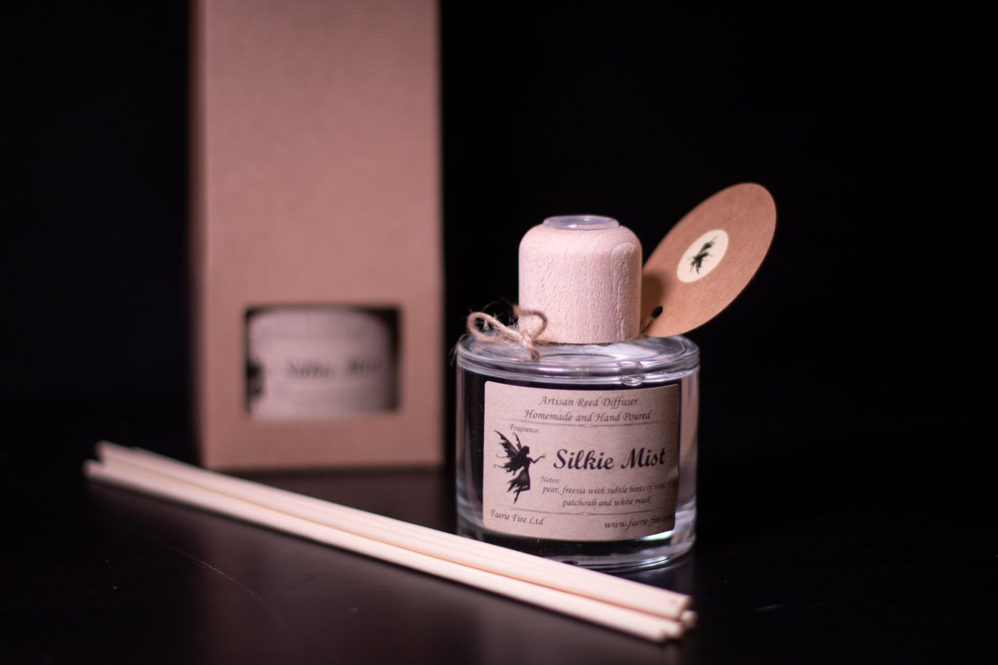 Silkie Mist Reed Diffuser scaled