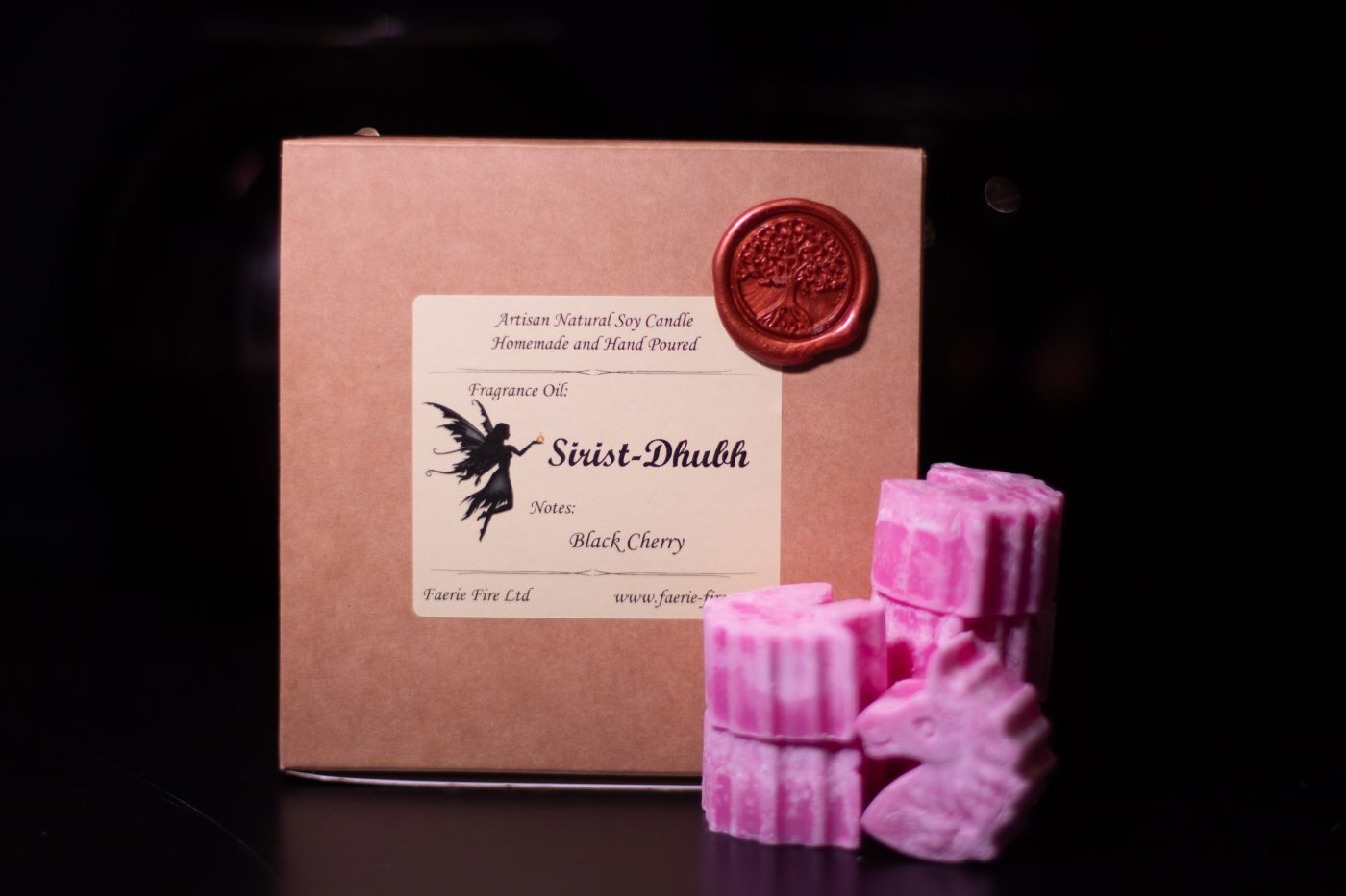 Sirist Dhubh Soy Wax Melts scaled