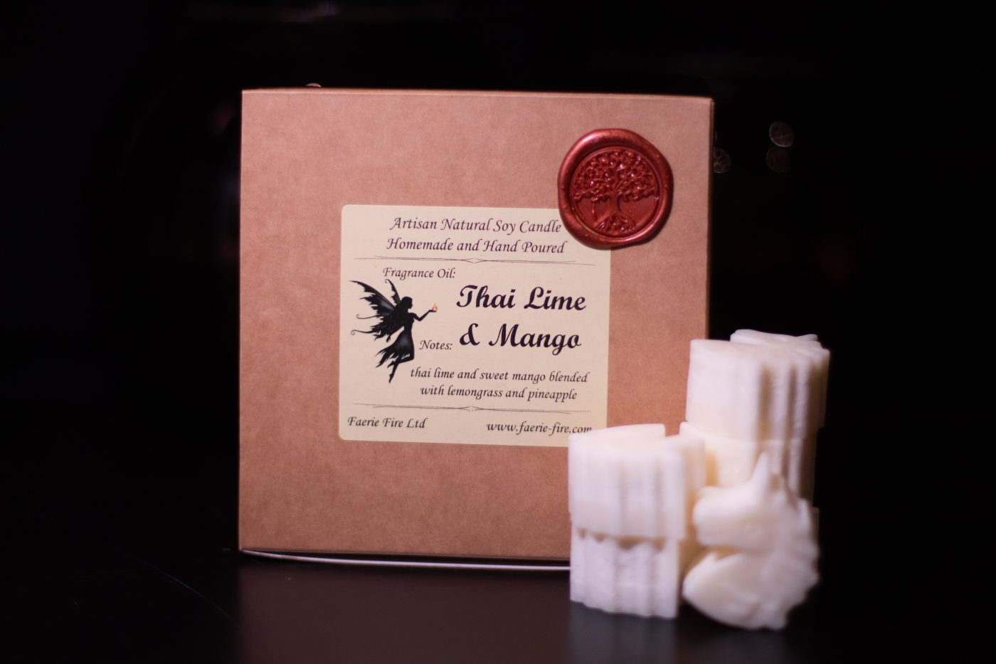 Thai Lime and Mango Soy Wax Melts scaled