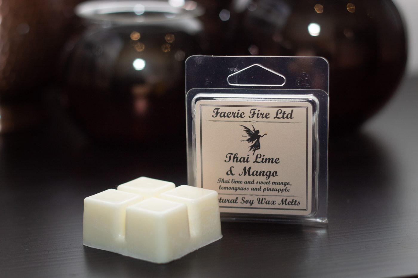 Thai Lime and Mango Wax Melt Clam Shell Small scaled