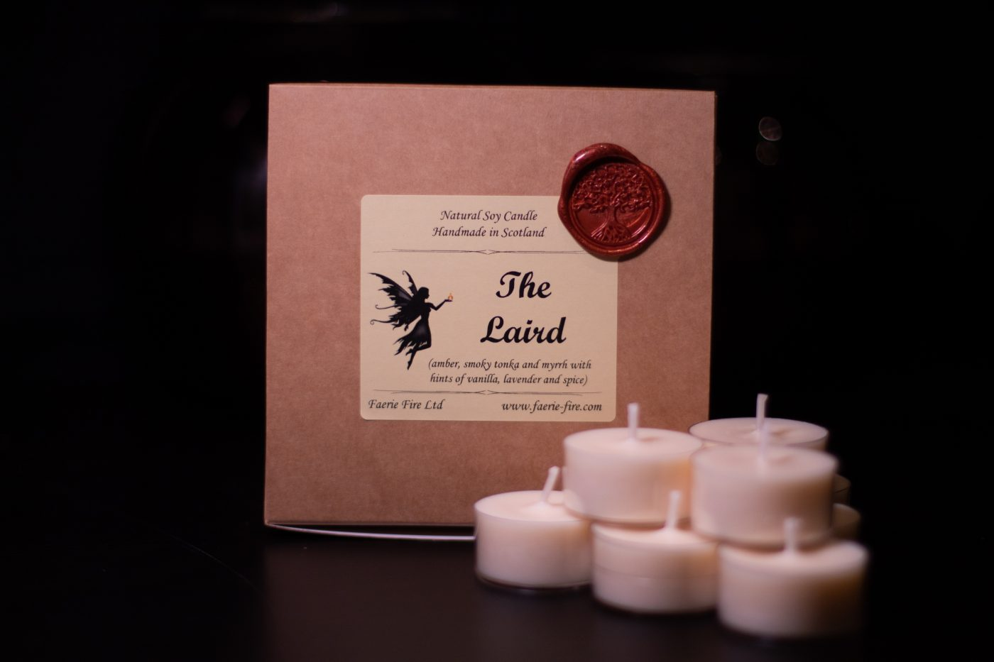The Laird Soy Wax Tealight scaled