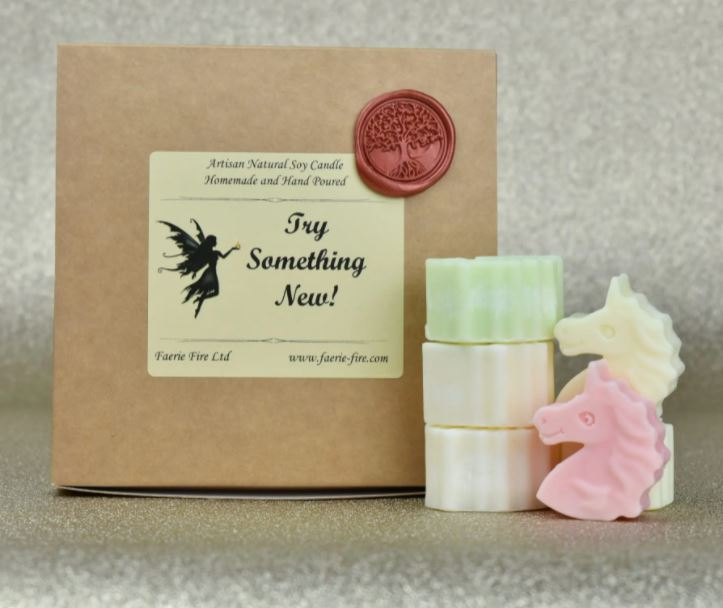 Try something new mixed sample box wax melts