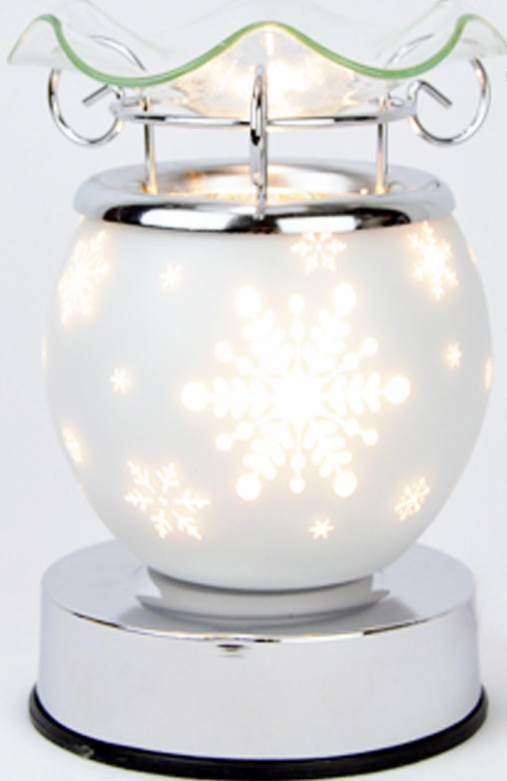 White xmas aroma lamp