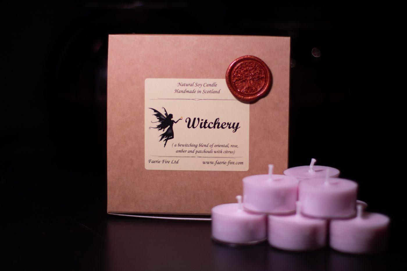 Witchery Soy Wax Tealight scaled