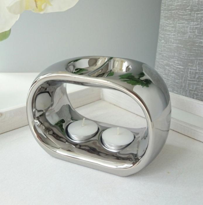 Duo Wax Warmer Silver