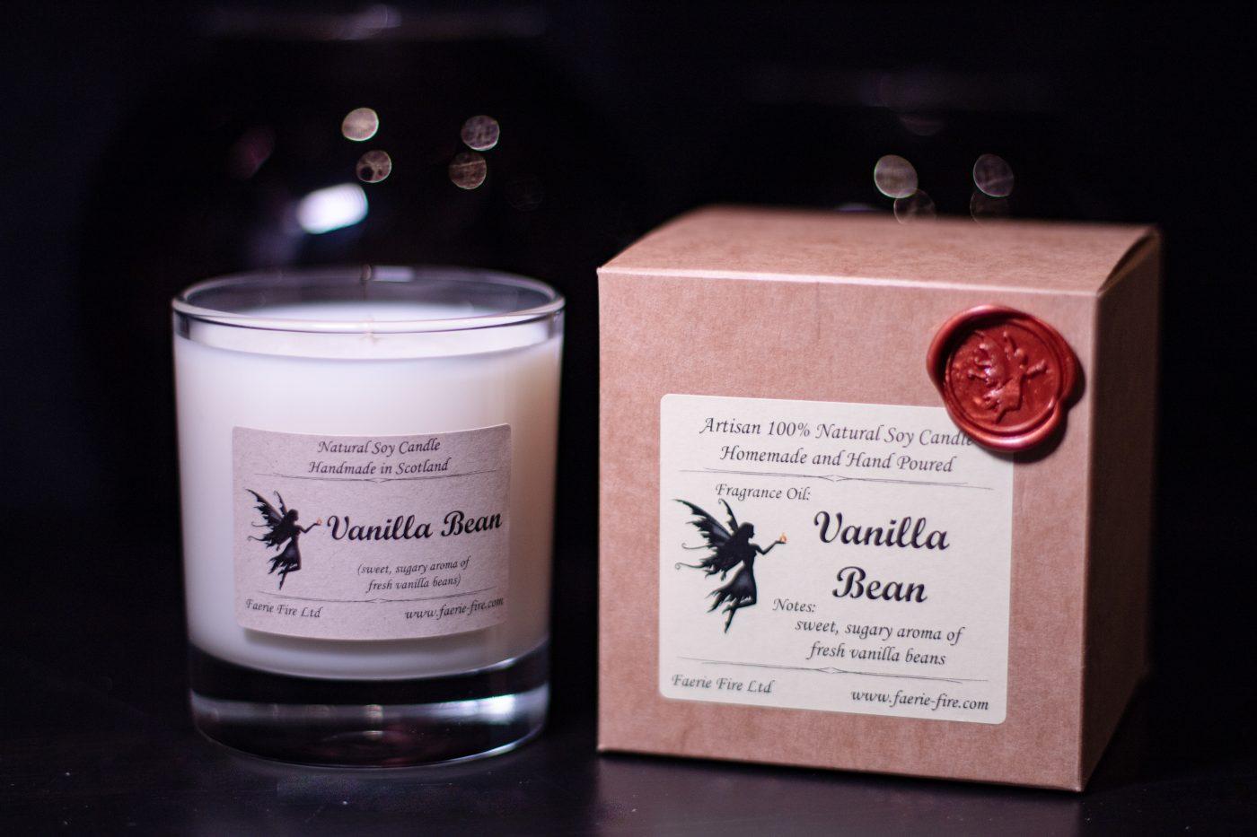 Vanilla Bean Soy Wax Jar Candle 3 scaled