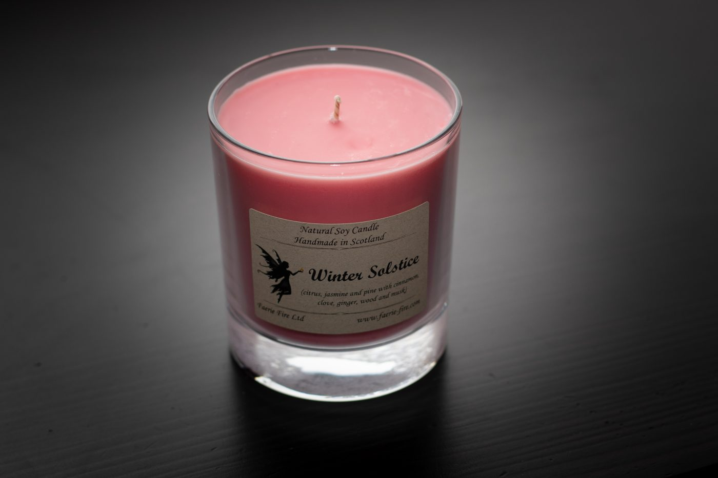 Winter Solstice Soy Wax Jar Candle scaled