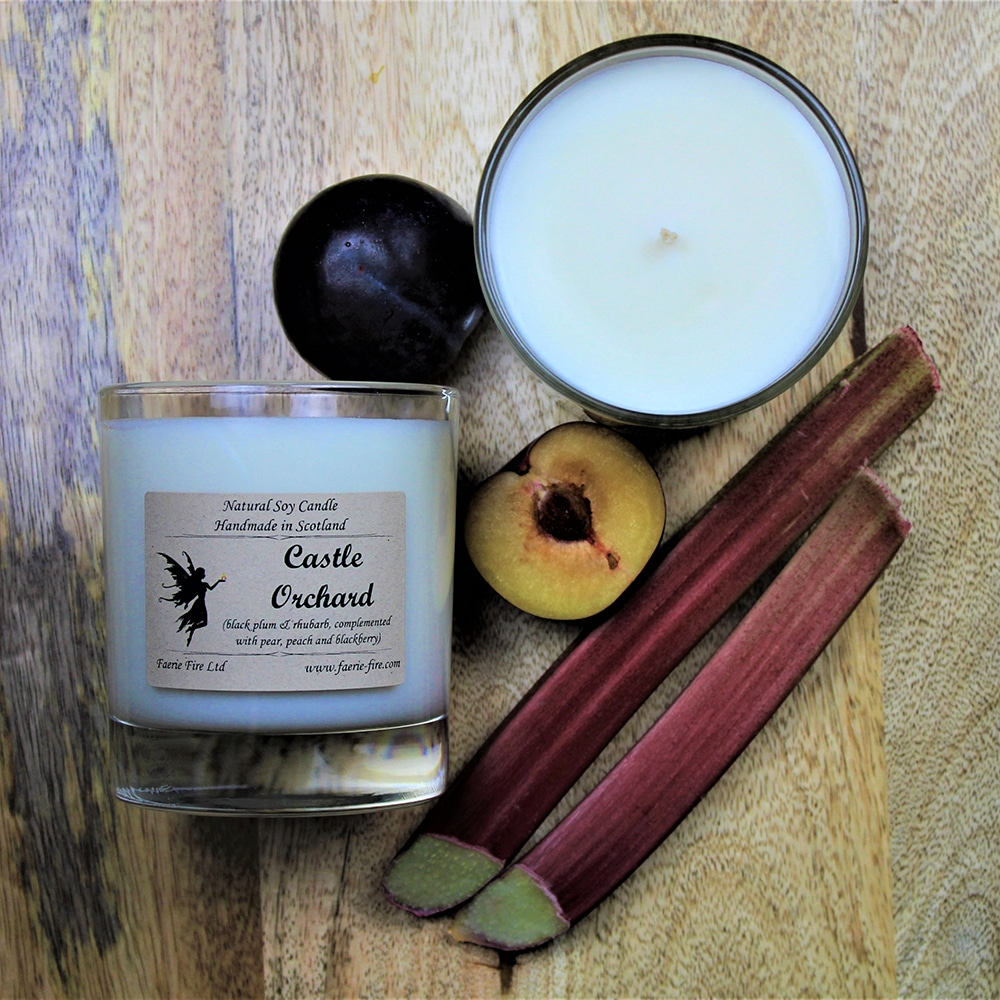 An image of our vegan candle | candles Scotland