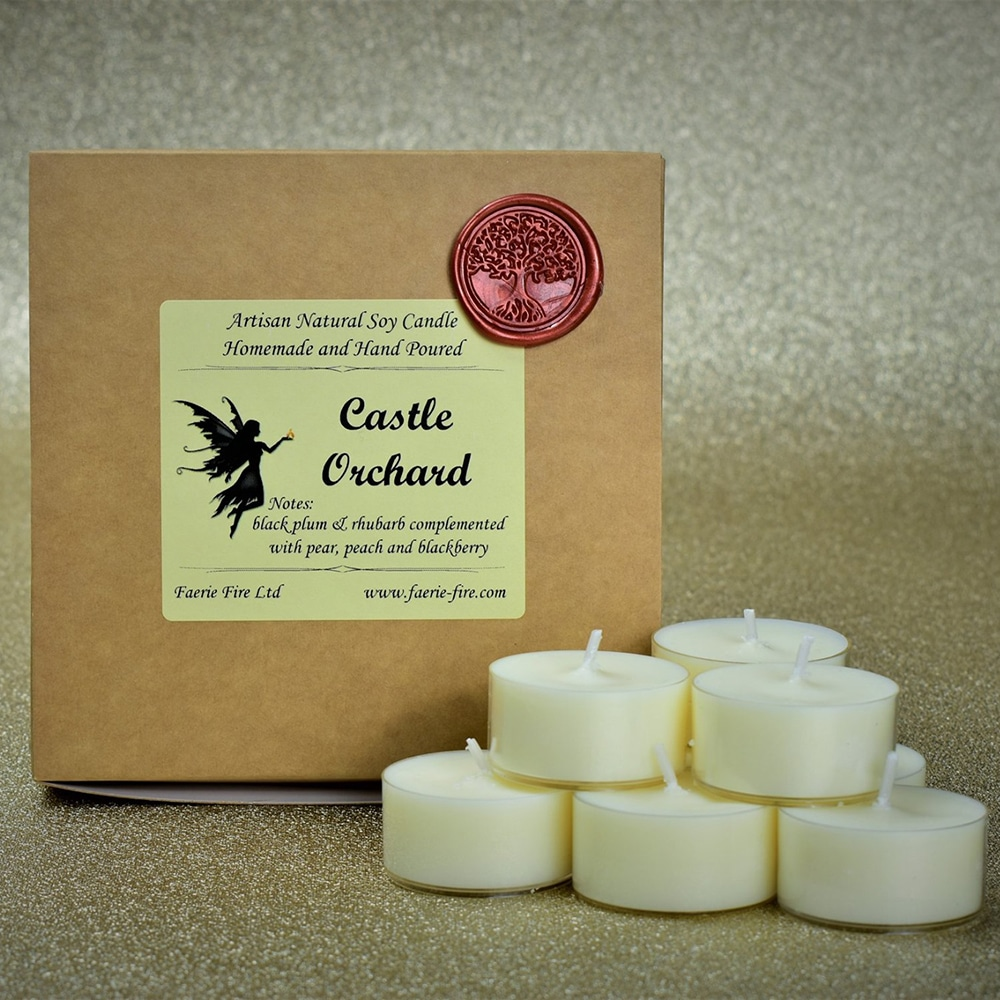 An image of our tealights | candles Scotland